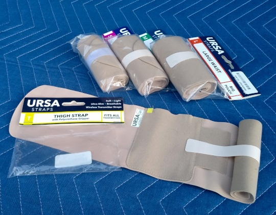 URSA straps used by production sound mixers and location sound recordists