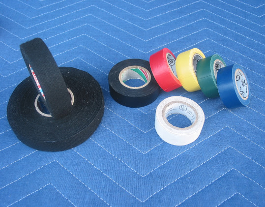 Electrical tape products used by location sound recordists and production sound mixers