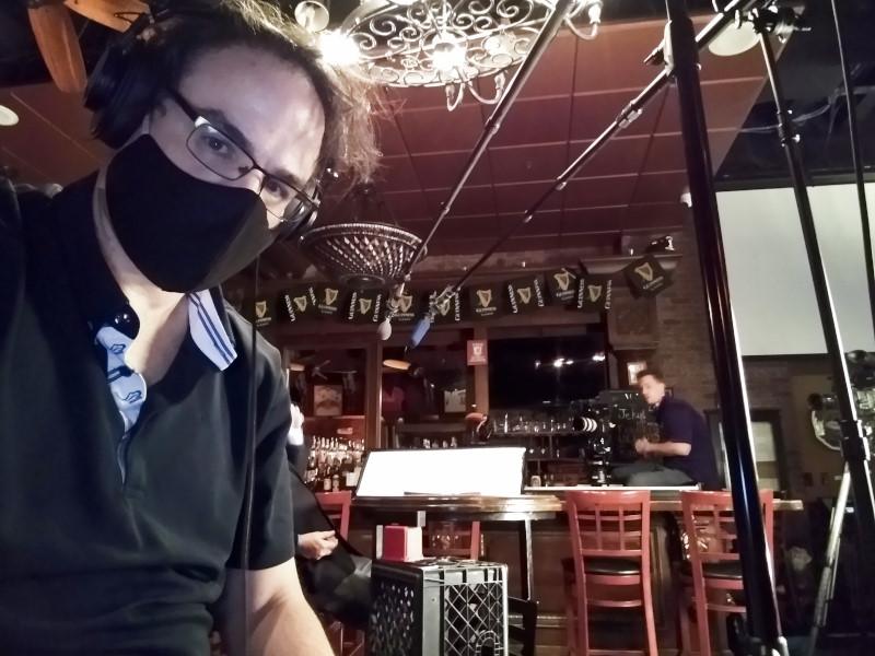 Dave Bilodeau location sound recordist production sound mixer Behind the Scenes